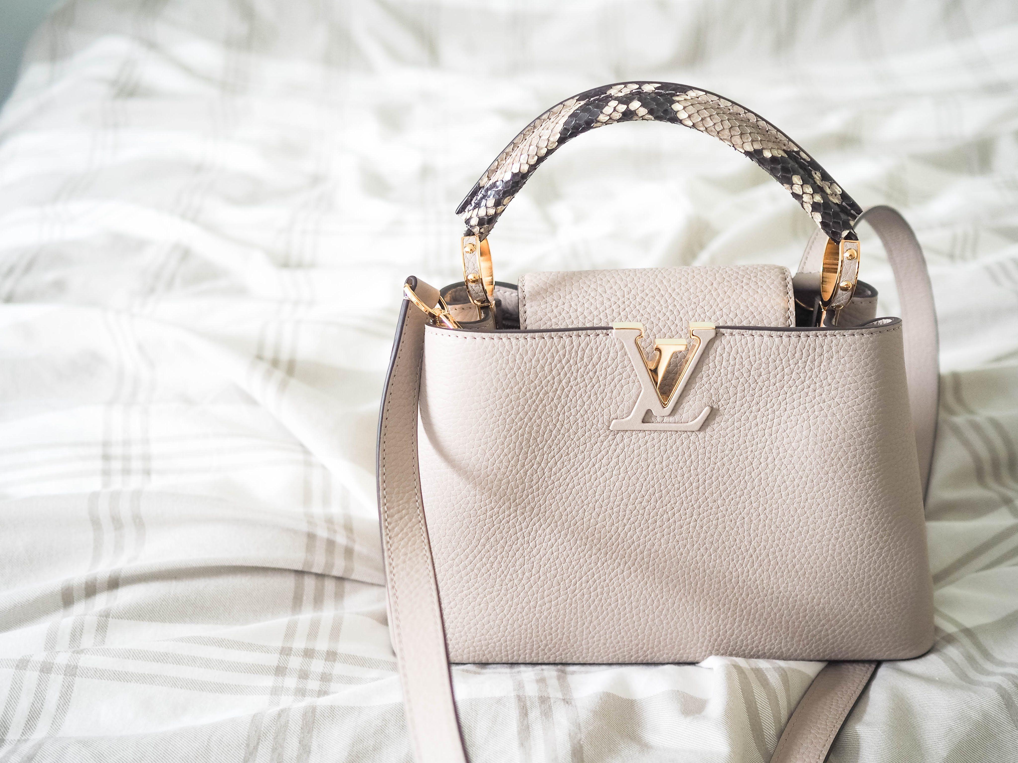 Louis Vuitton Capucines BB Bag with python handle Louis Vuitton Capucine ace1ea0b6392b