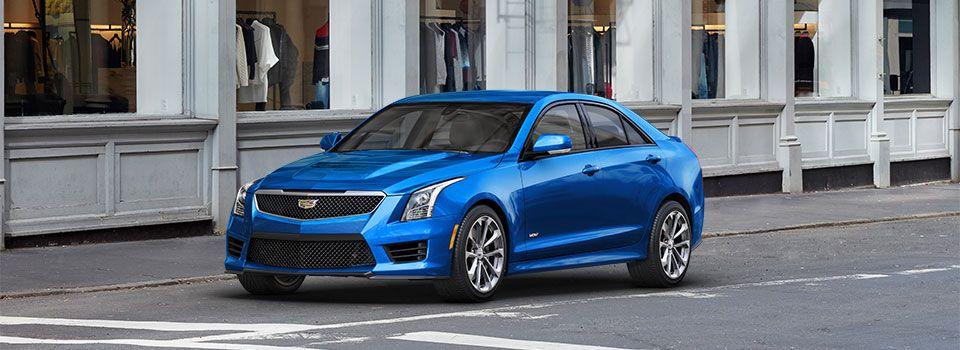 Cadillac ATS-V Sedan Vector Blue Metallic** | Cadillac ATS-V ...