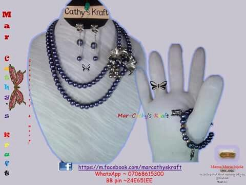 @marcathyskraft on facebook #Nigerian_beads