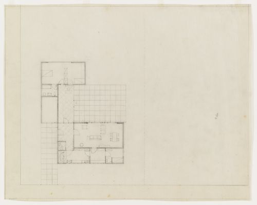 Lemke House Berlin Germany Floor Plan With Furniture