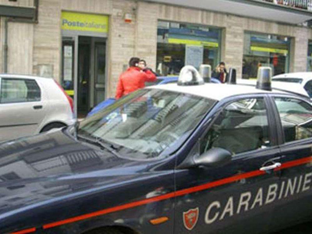 Ennesima rapina a mano armata alle poste: bottino 65mila euro