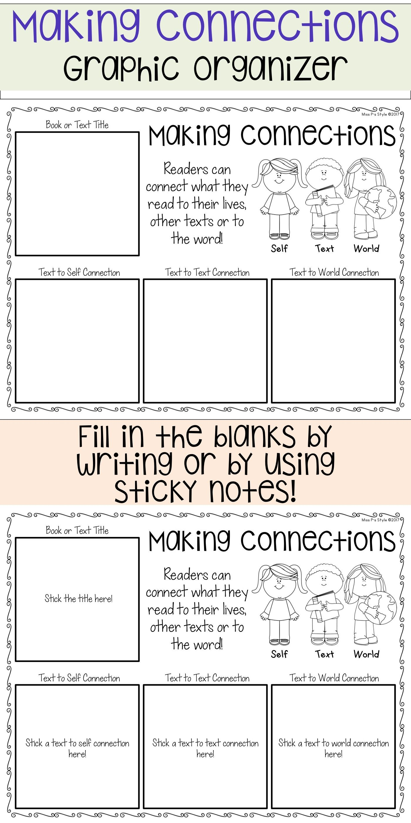Reading Graphic Organizers With Images