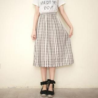 Buy 'Tokyo Fashion – Elastic-Waist Plaid Midi Skirt' with Free Shipping at YesStyle.ca. Browse and shop for thousands of Asian fashion items from Taiwan and more!