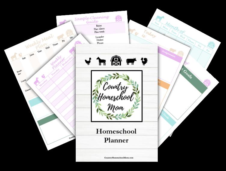 Free Printable Homeschool Planner Pages Homeschool
