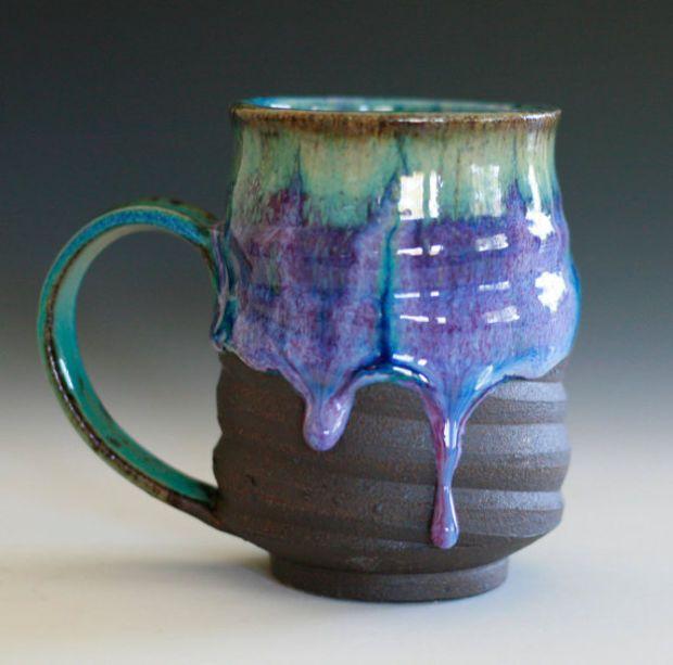 Coffee Mug, handmade ceramic cup, coffee cup #coffeecups