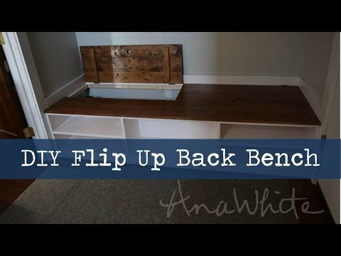 Diy Mudroom Bench With Hidden Boot Storage Diy Mudroom Bench Bench With Shoe Storage Diy Mudroom Bench Plans