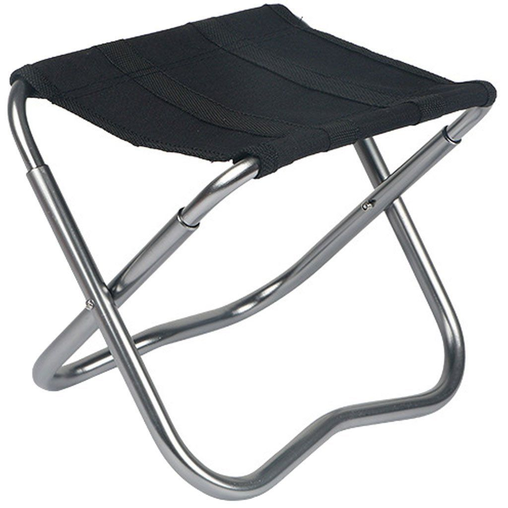 Lifelj Aluminum Portable Carry Folding Travel Fishing Stools With Canvas Cloth  Chair For Outdoor Camping Fishing ** Want To Know More, Click On The Image.
