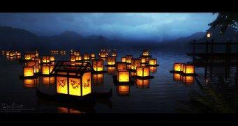 Themed Feature Lanterns Serel On Deviantart Japanese Paper Lantern Wallpaper