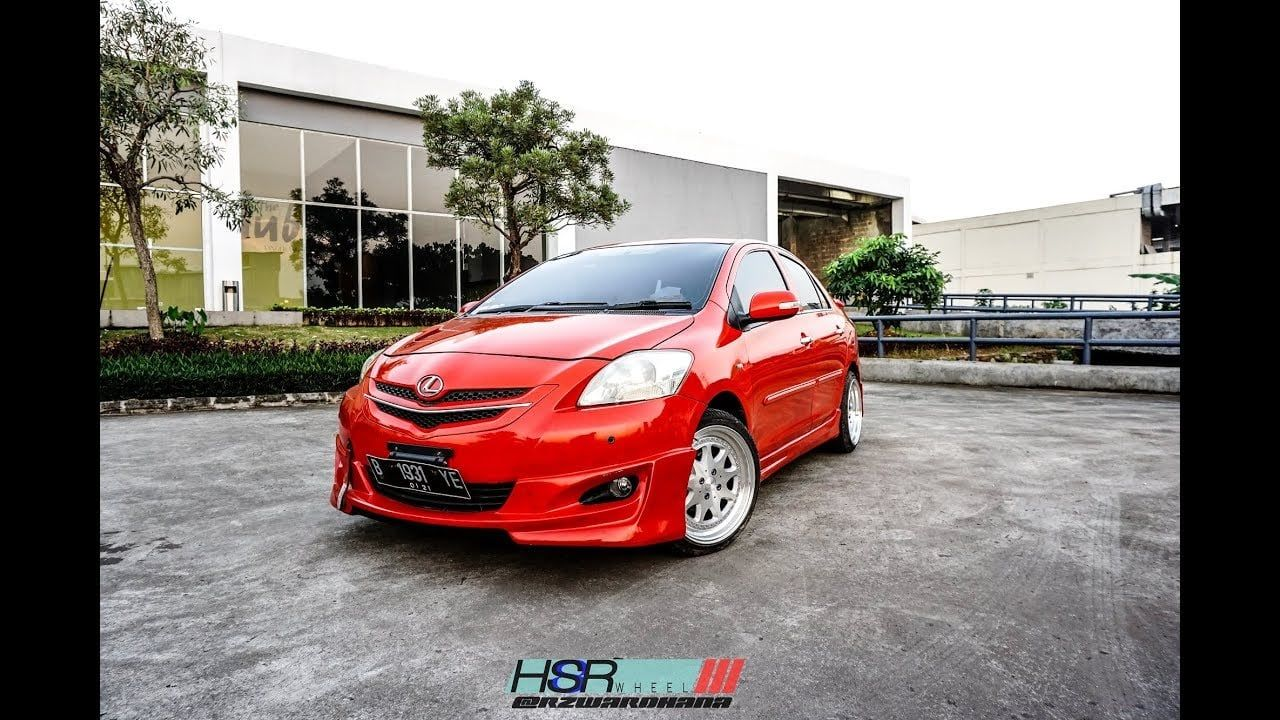 Modifikasi Mobil Vios Warna Merah Dengan Gambar Modifikasi