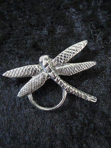 Antiqued Oval Shaped Fleur de lis ID Badge or Eyeglass Holder Pin Black Center