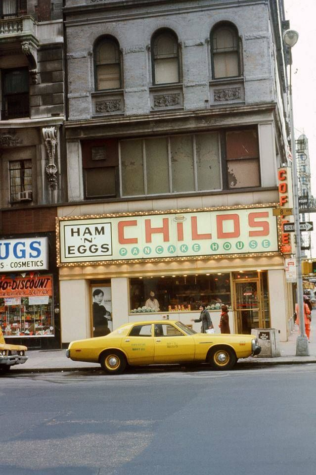 1974 Childs 8th Avenue And 58th Street Nyc By Odd Anderson Afp