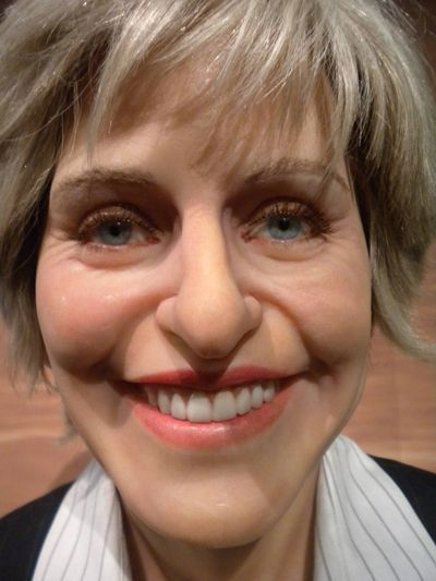 Worst Wax Figure Ellen Before And After Wax Worst Celebrities