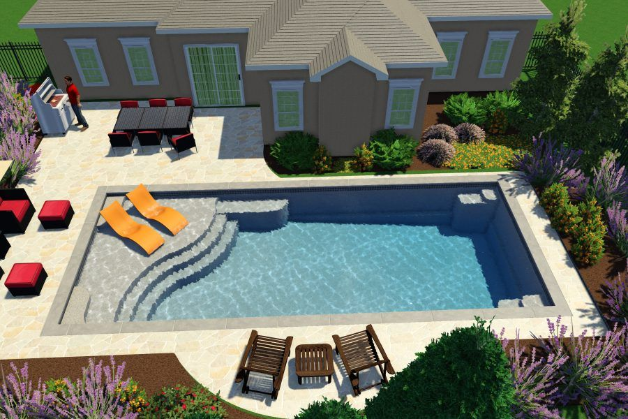 Great Easy Living Pools In Ground Swimming Pool Installers In Ohio