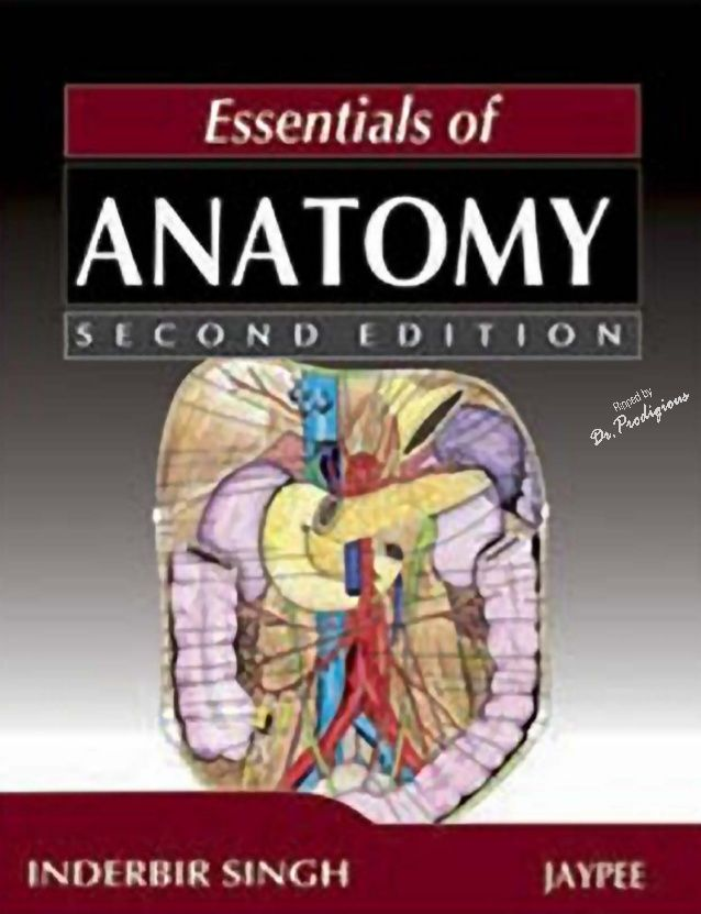 IB Singh - Essentials of Anatomy, 2nd Edition | Anatomy Atlas ...
