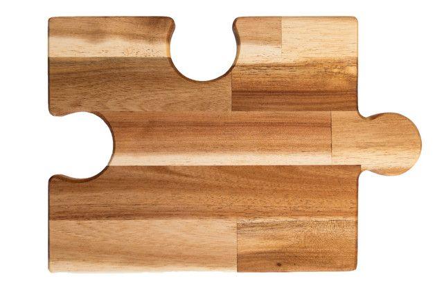 Puzzle Anricht Und Schneidebrett Variante Mit 2 Lochern Schneidebrett Bretter Leimholz
