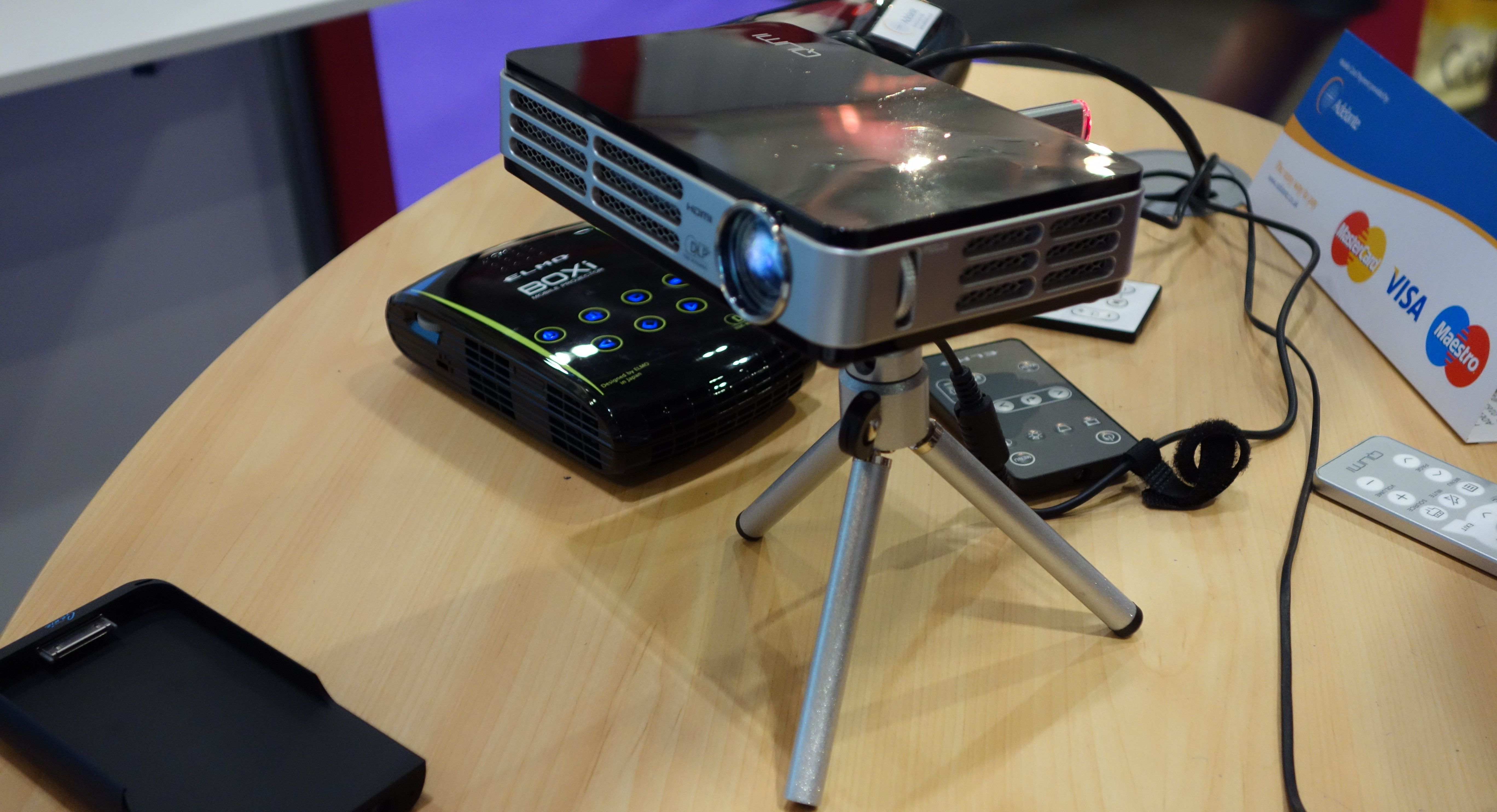 Create a portable classroom with a pico projector