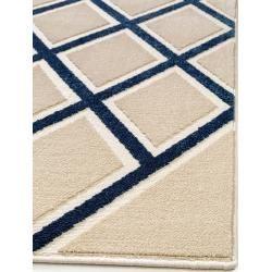 Short Pile Rugs Benuta Trends Short Pile Carpet Diamond Beige Blue 120 170 Cm Modern Carpet For Living R In 2020 Living Room Carpet Rugs On Carpet Modern Carpet
