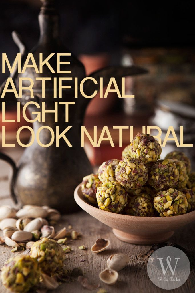 How To Make Your Artificial Food Photography Lighting Look