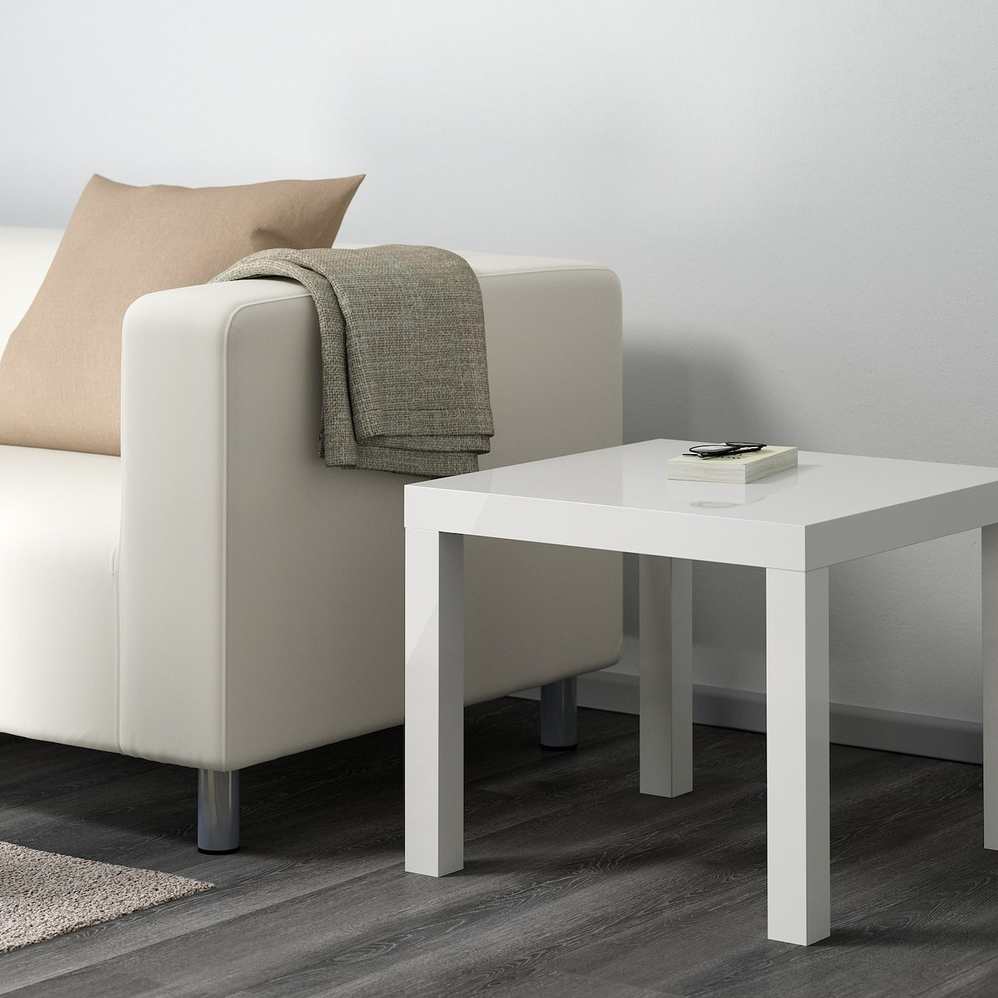 Lack Side Table High Gloss White Ikea In 2020 Ikea Side Table Ikea Lack Side Table Ikea Lack Table [ 1400 x 1400 Pixel ]