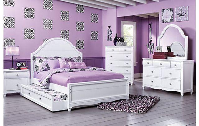 Kinderzimmer Einrichten, Haus Deko, Schlafzimmer, Wohnen, Lila Schlafzimmer,  Lila Kinderzimmer, Weiße Mädchenzimmer, Schlafzimmer Ideen, Baby  Schlafzimmer