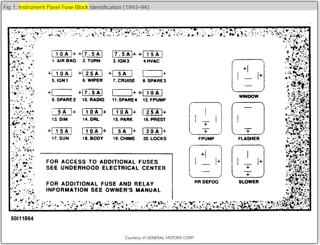 2001 Toyota Corolla Fuse Box Location | schematic and ...