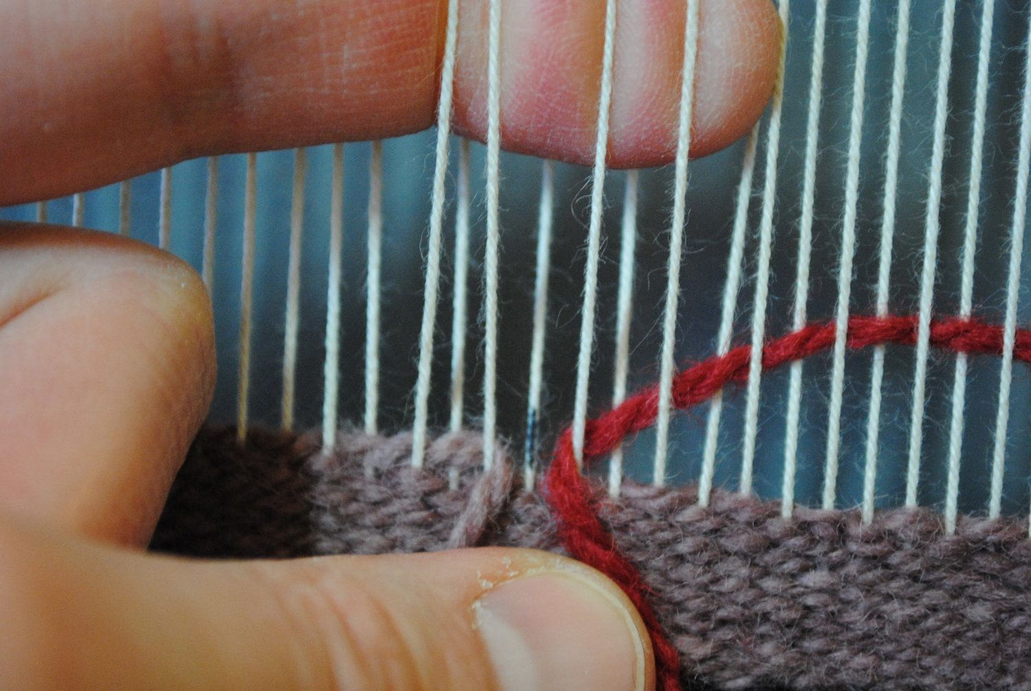 Four things a tapestry weaver needs to remember — Rebecca Mezoff