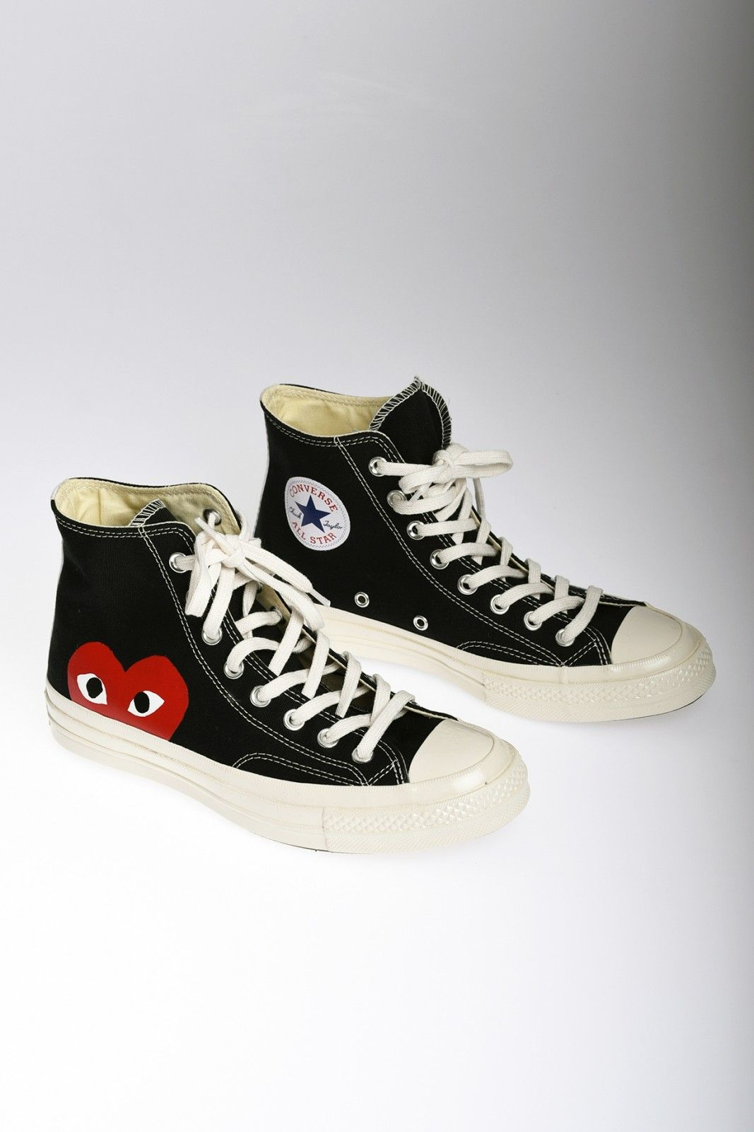 b4d55ccd73f2e COMME DES GARCONS Play Converse Chuck Taylor All Star baskets hautes ...