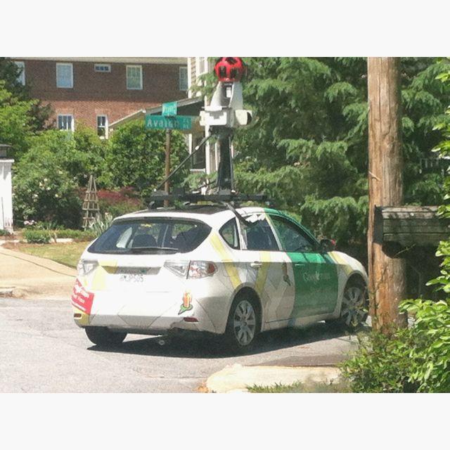 The Google Maps car!!!