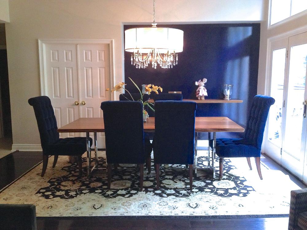 Navy Blue Dining Room Decor In 2020 Dining Room Blue Blue