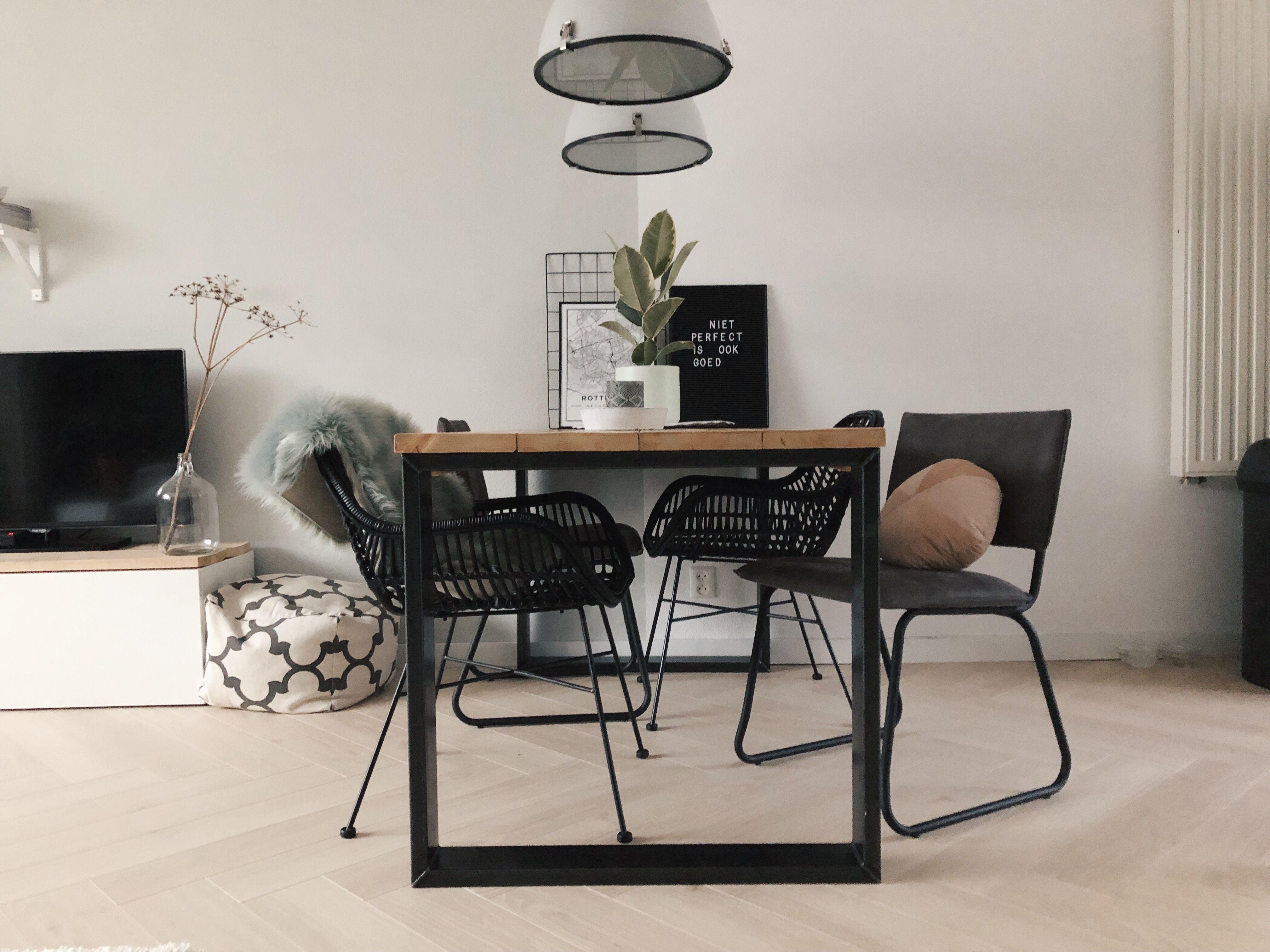 Stoer Industriele Eetkamerstoelen : Industriele stoelen kwantum kwantum repin stoel new york estilo