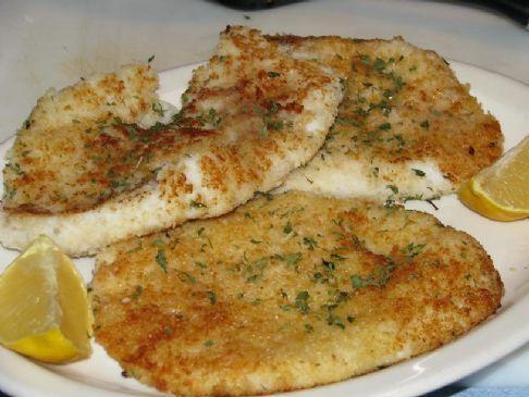 Calamari Steaks With Lemon Butter Amp Parsley Recipe