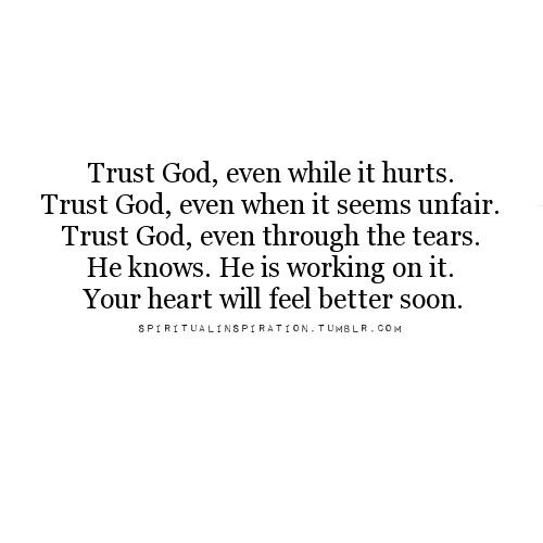 Let's trust God! | via Tumblr on We Heart It