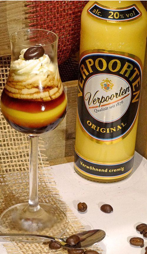Kaffee Rezept ''Bumblebee mit Wodka Sahne'' - Drinks, Cocktails und Longdrinks mit Eierlikör #quotesaboutcoffee