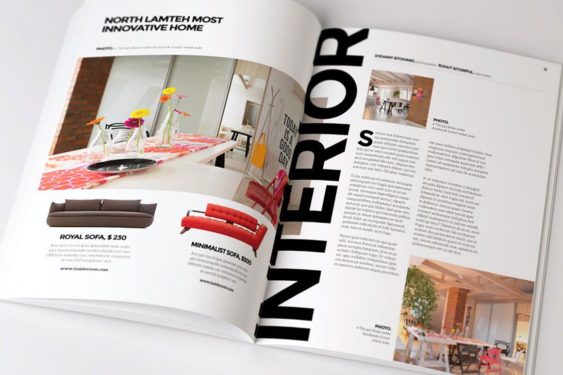 Indesign Magazine Design Layout