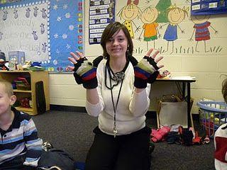 mitten activities and classroom book