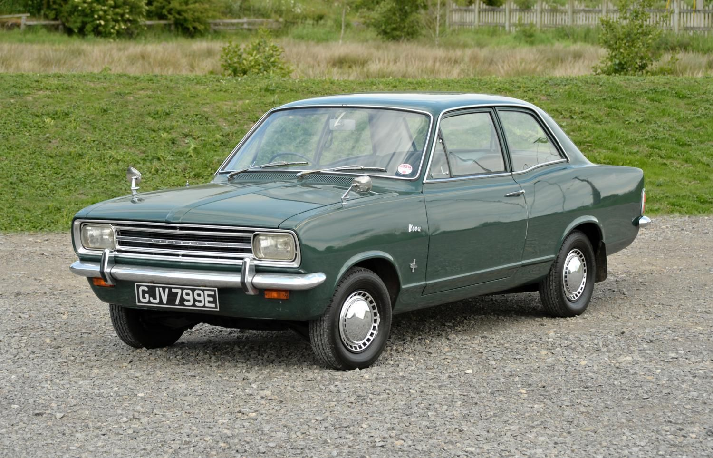 Vauxhall Viva Saloon Dark Green Vauxhall Viva Vauxhall
