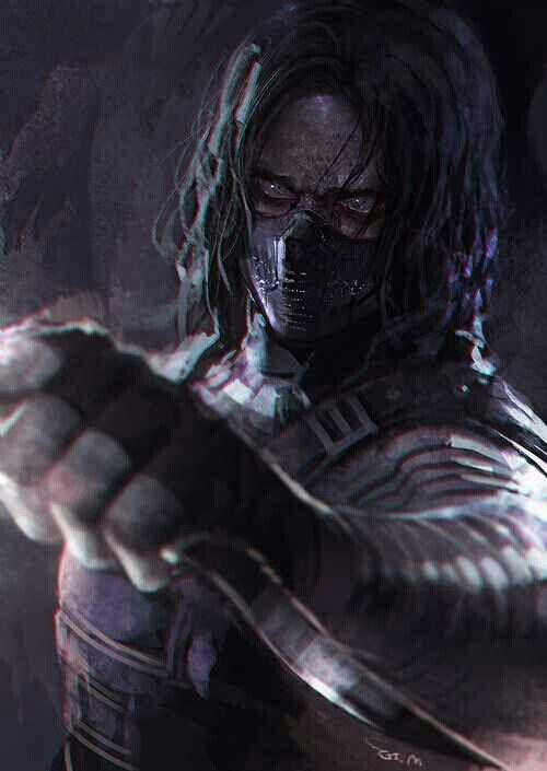 Exceptional Badass Winter Soldier Fan Art