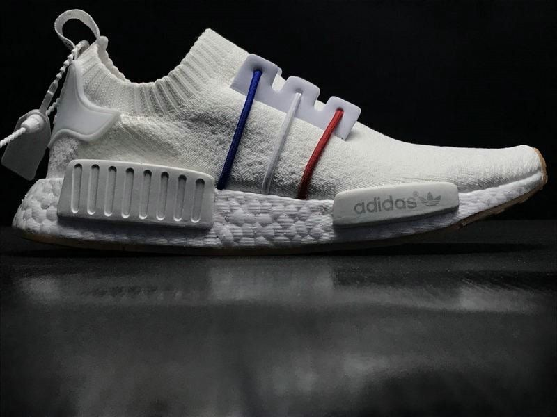 promo code 04f55 83f17 Spring Summer 2018 Cheapest Unisex Adidas NMD R1 PK France Boost White Blue  Red BZ0298