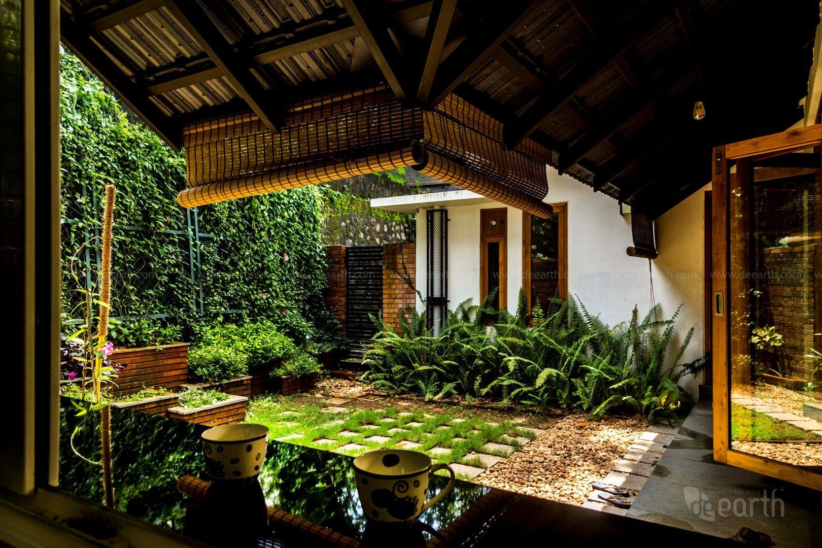 The Garden House Courtyard design, Urban home decor
