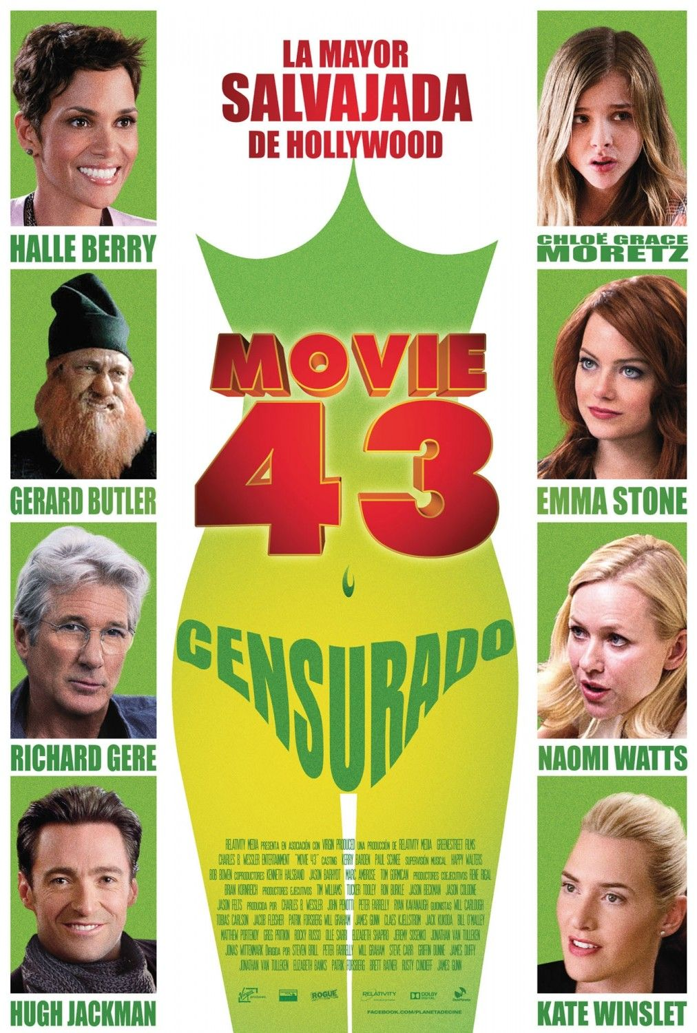 Check Out Second Poster For Movie 43 The Relativity Media Release Opens January 25th This Year With A Gargantuan Movie 43 Streaming Movies Free Richard Gere