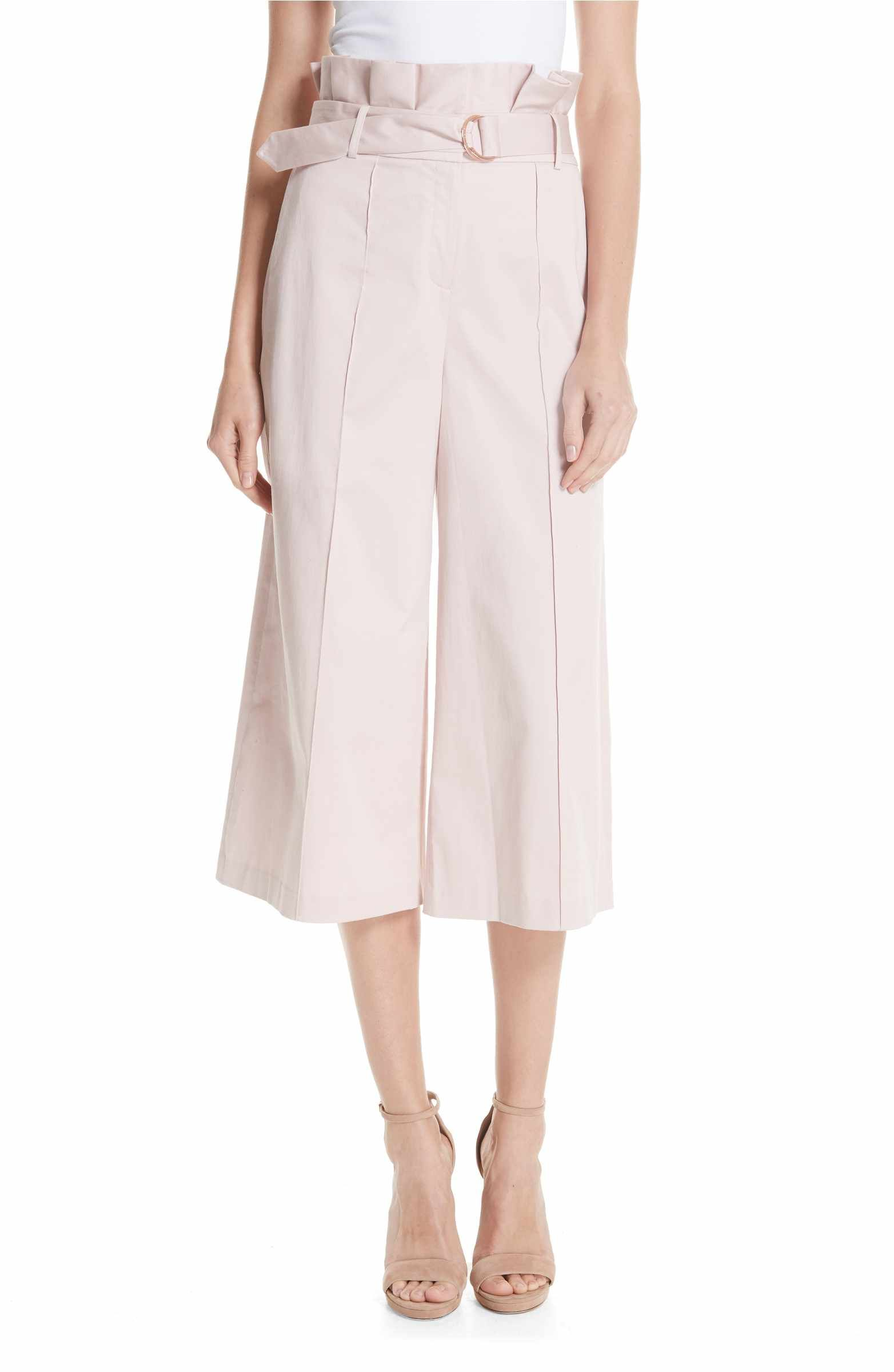 690100ddff1e05 Main Image - Ted Baker London Callie Paperbag Waist Pants