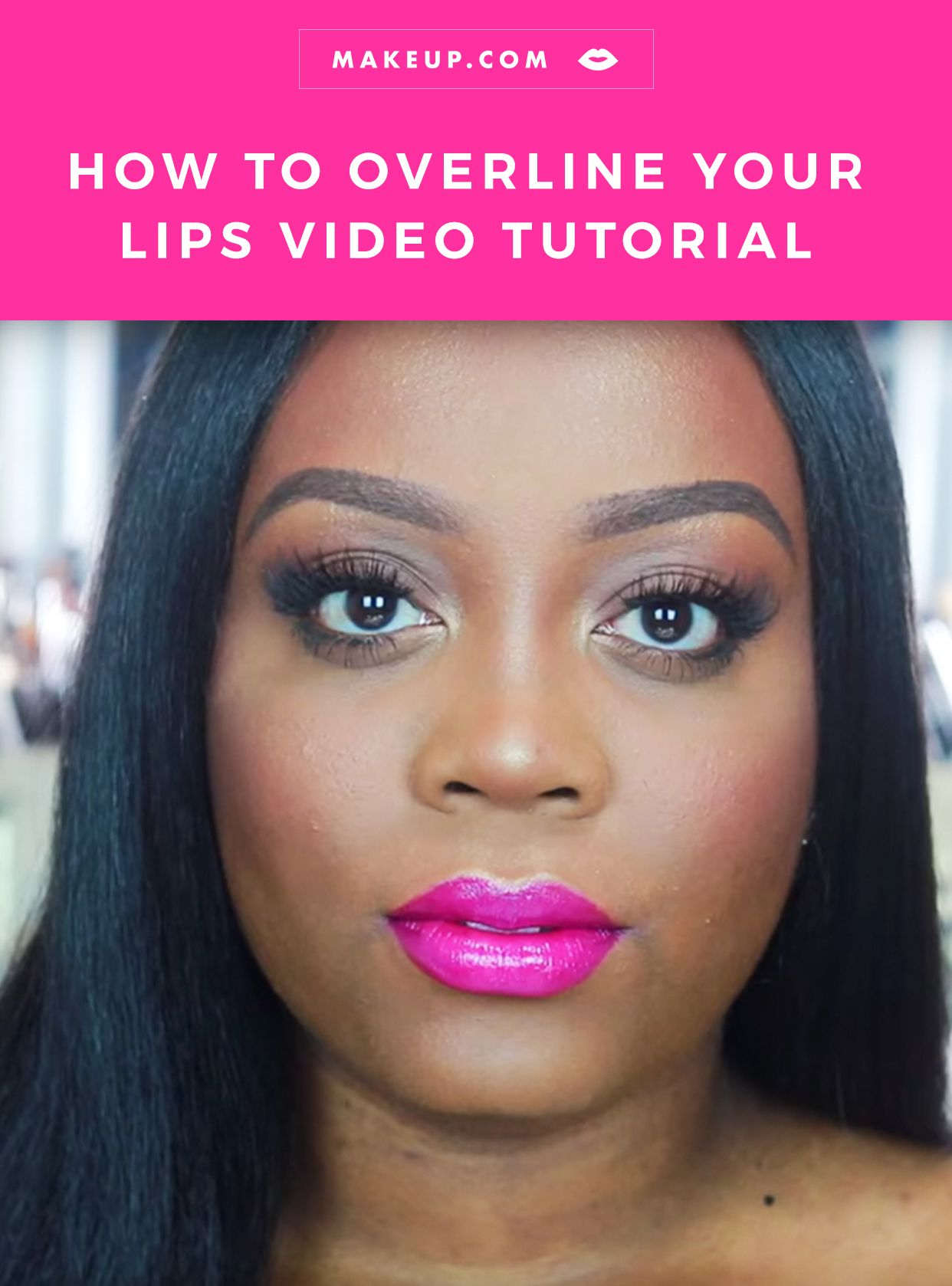 How to Overline Your Lips Like Your Fave Beauty Influencer