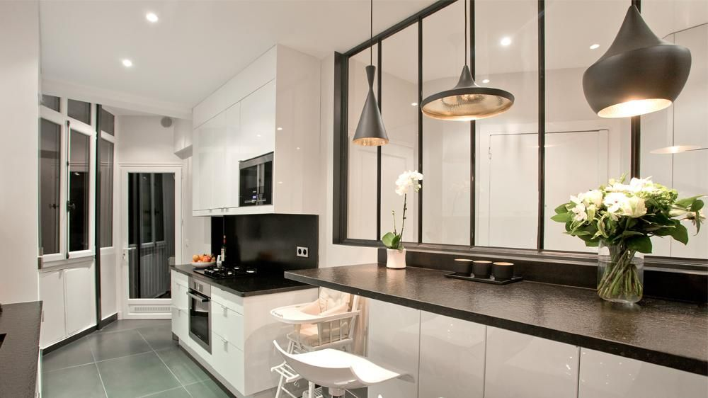 Comment installer une verrière dans sa cuisine ?   Cuisine verriere ...