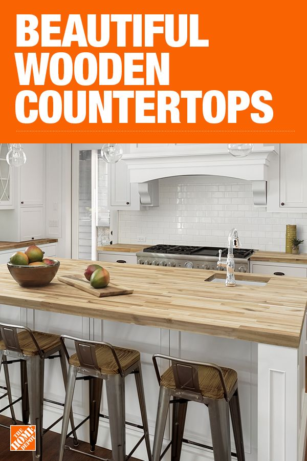 The Home Depot Has Everything You Need For Your Home Improvement Projects Click To Learn More Home Depot Kitchen Butcher Block Countertops Kitchen Countertops