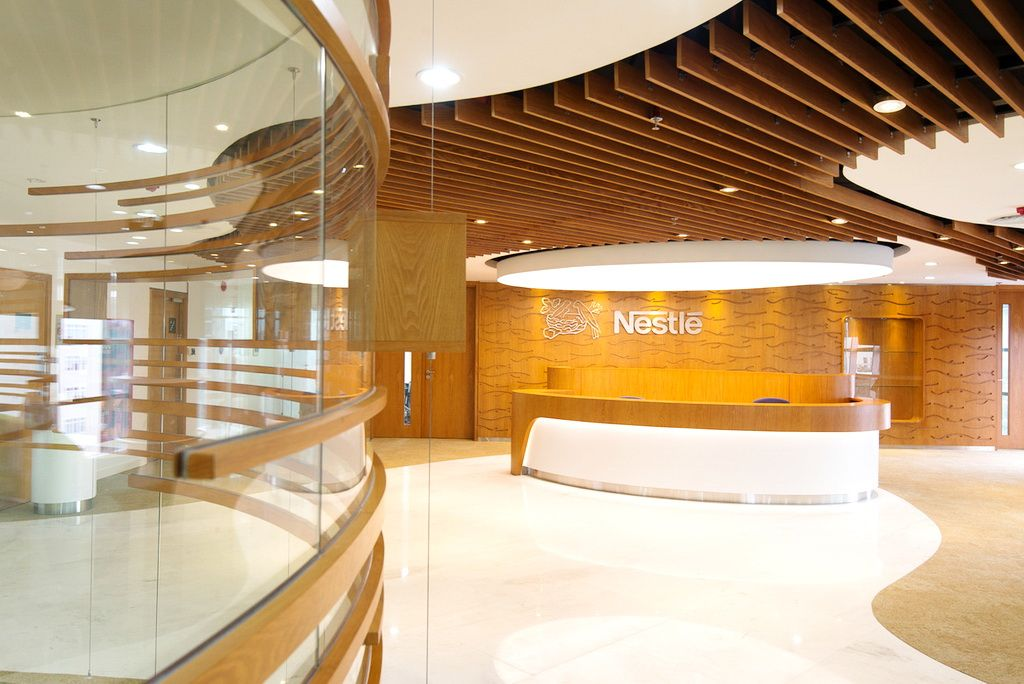 Nestl s office interior design vietnam 006 nectar amber for Interior design in vietnam