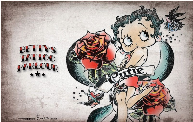 Pin By Becky Heichel On Betty Boop Betty Boop Tattoos Betty Boop Pictures Betty Boop