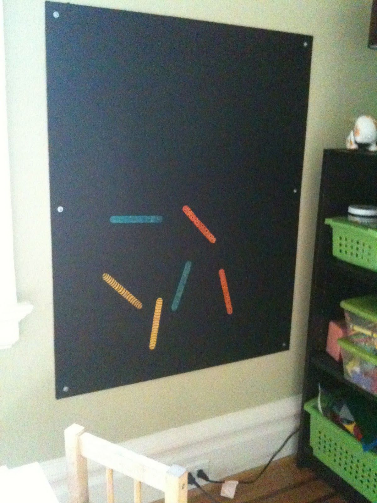 """Another DIY Magnetic Chalk Board ("""",)"""