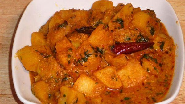Aloo dum spicy vegan potato curry savory delights pinterest aloo dum spicy vegan potato curry indian potato recipesindian vegetarian recipesindian food forumfinder Choice Image
