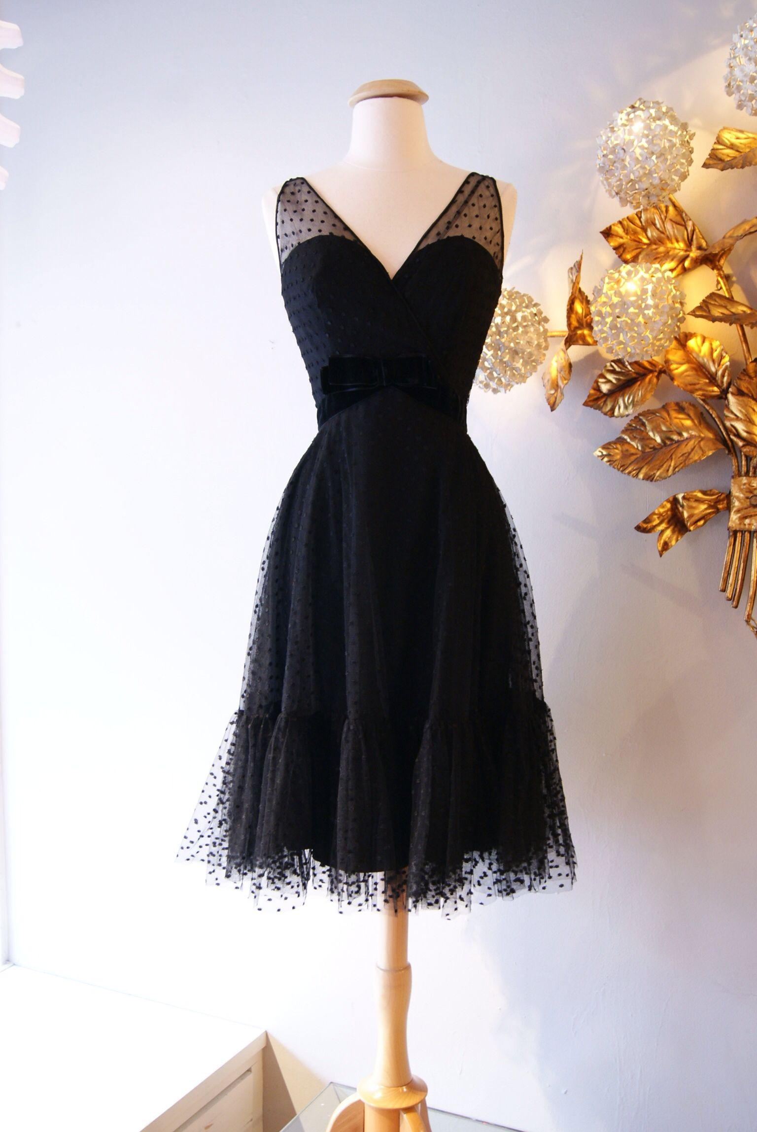Vintage Little Black Dress From The 1960s Dress Retro Partydress Fashion Vintage Promdress Cocktail Dress Highen Little Black Dress Black Dress Fashion [ 2297 x 1536 Pixel ]