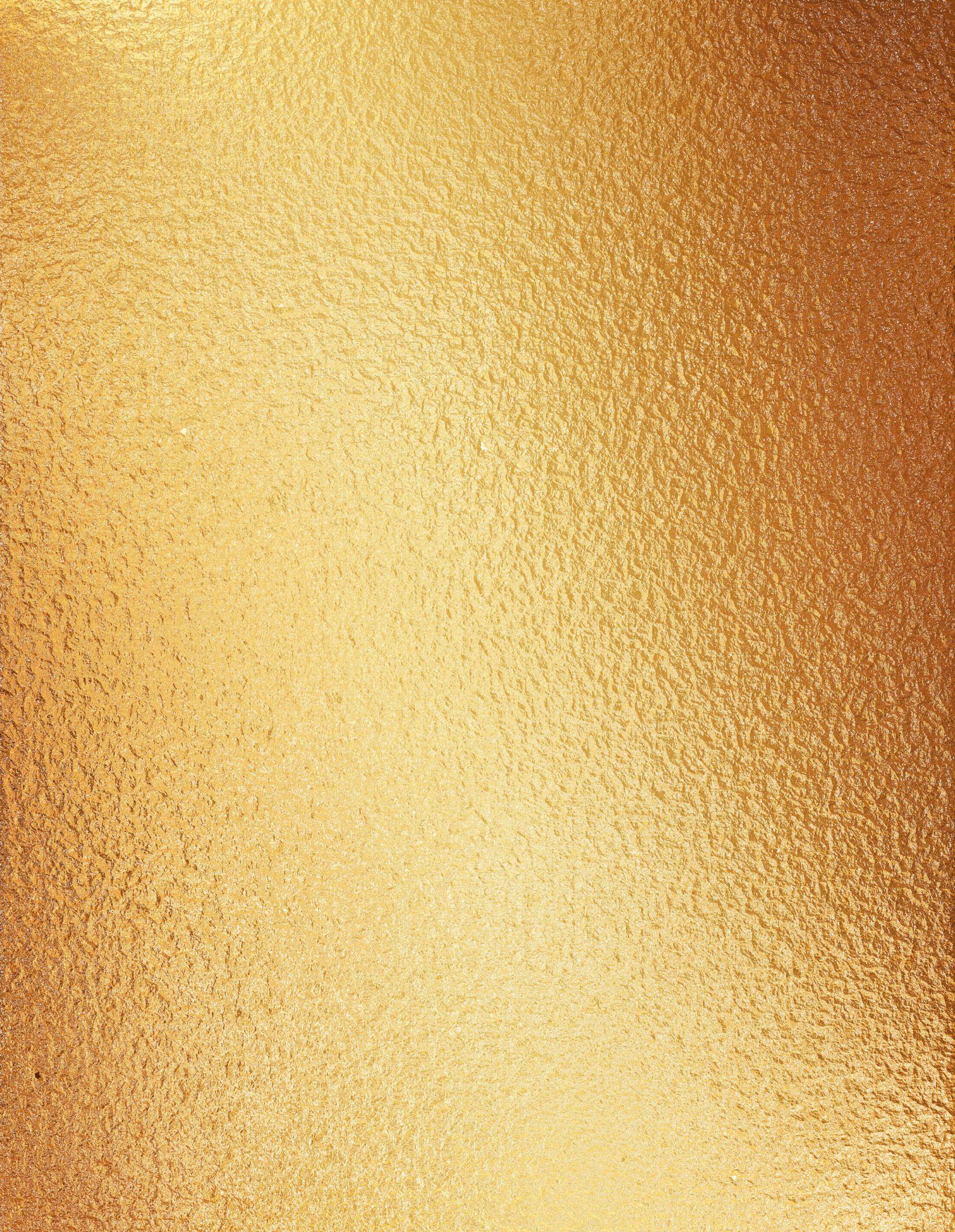 Gold Foil Gold Foil Texture Gold Foil Background Gold Background